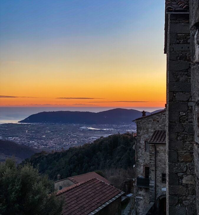 Tramonto al castello Malaspina