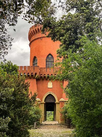 Castello del parco durazzo pallavicini per un weekend in liguria